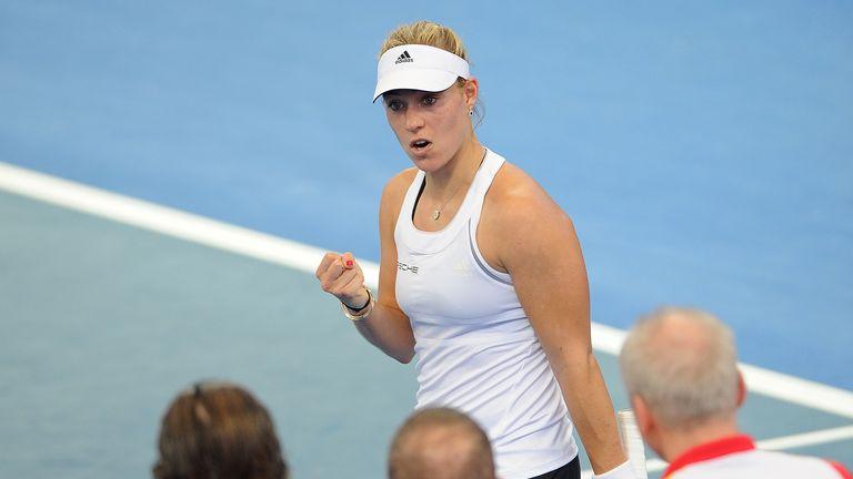 Angelique Kerber: Moves into the quarter-finals in Nuremburg