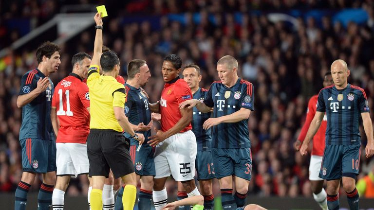Antonio Valencia: Booked after tough challenge
