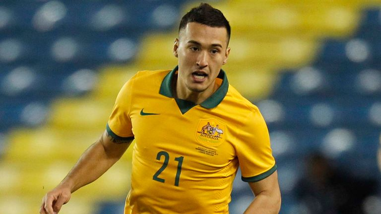 Jason Davidson: West Brom are believed to be interested in Australian defender