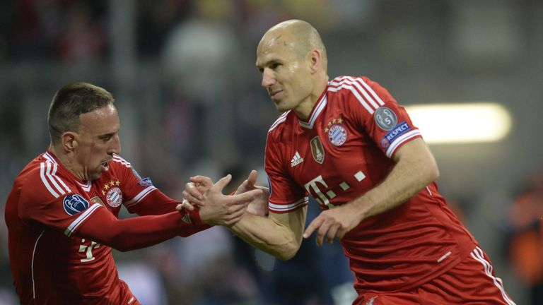 Arjen Robben: Completed the rout