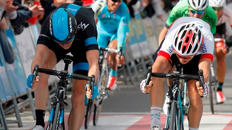 Swift pipped Kwiatkowski to second