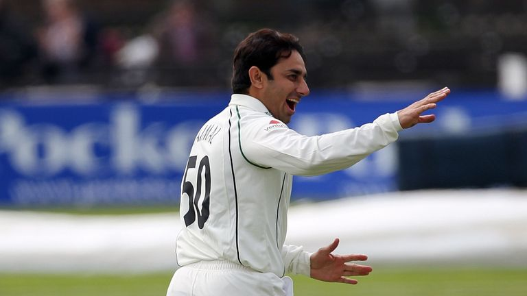 Saeed Ajmal: Took 4-40 as Worcestershire thrashed Derbyshire at New Road