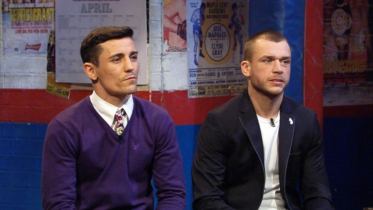 Friendly fire: Crolla and Murray will both be up for it, says Johnny