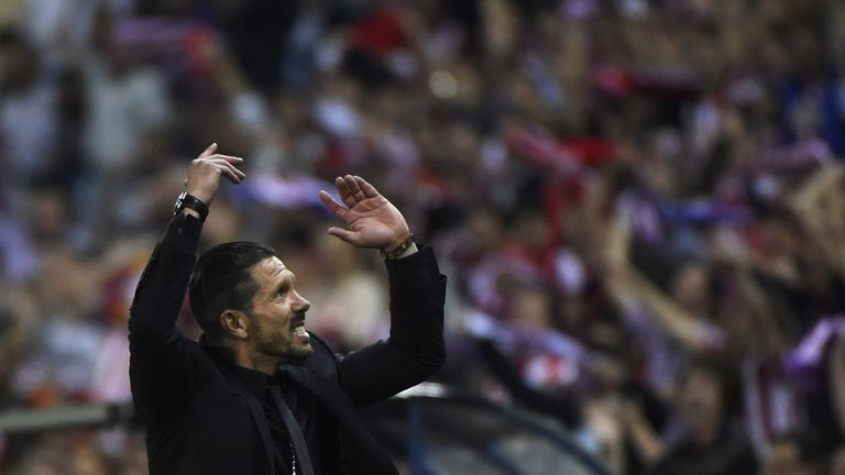 Diego Simeone: Led Atletico into the Champions League semi-finals