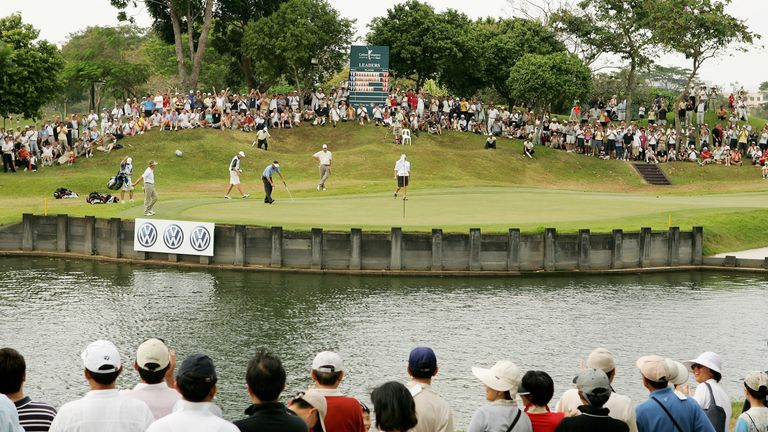 The 17th hole at Laguna National