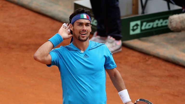 Believe in better: Fognini's confidence levels have shot up, says Leif
