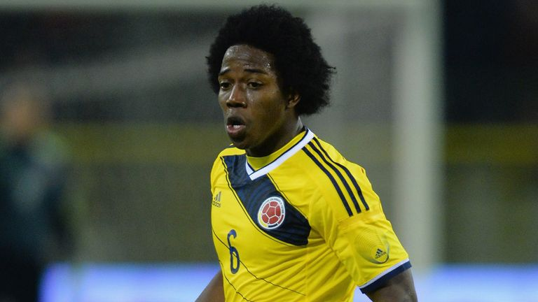 Carlos Sanchez: Elche's Colombian midfielder has been linked with Everton