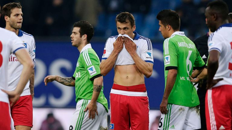 Hamburg: Players failing to offer a reaction