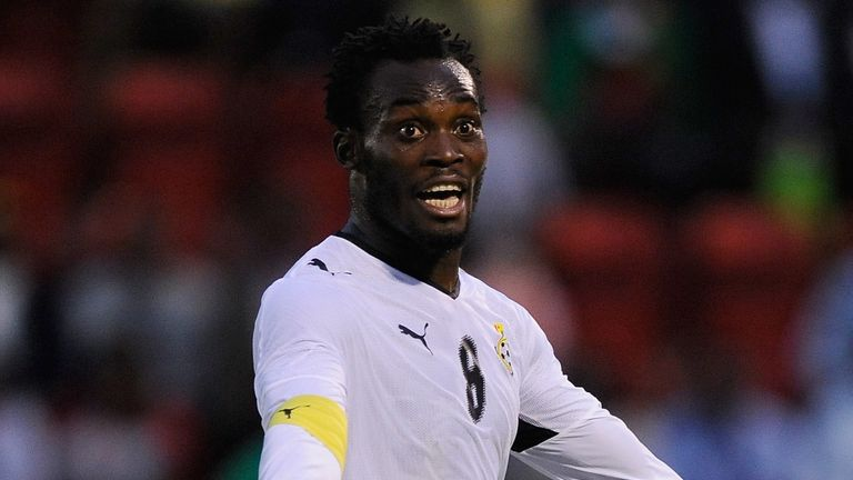 Michael Essien is a familiar face