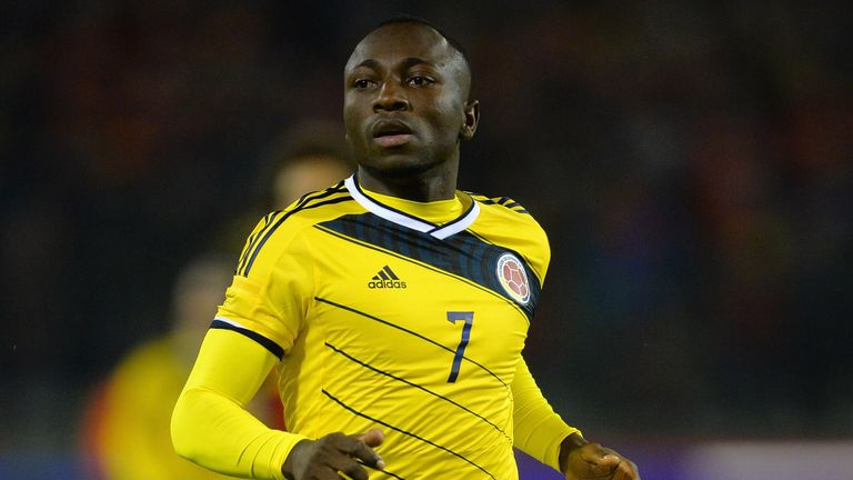 Pablo Armero: Hoping to have caught the eye while on World Cup duty