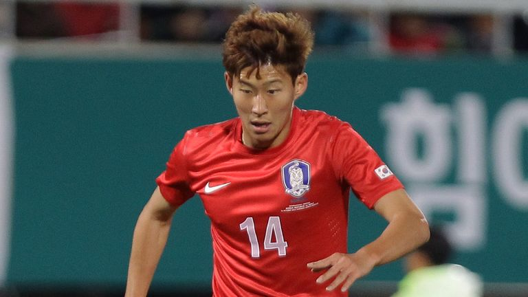 Son Heung-Min of South Korea