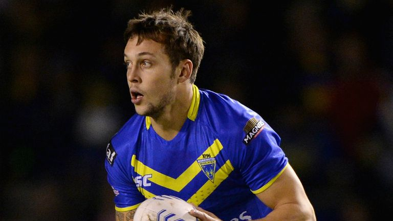 Gareth O'Brien: returned from loan stint to inspire Warrington