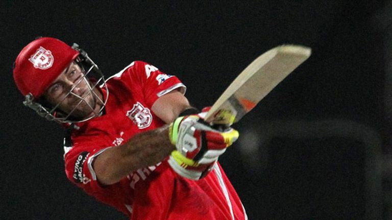 Glenn Maxwell: currently teeing off for the Kings XI Punjab in the IPL