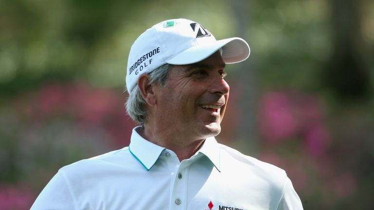 Fred Couples at the 2014 Masters