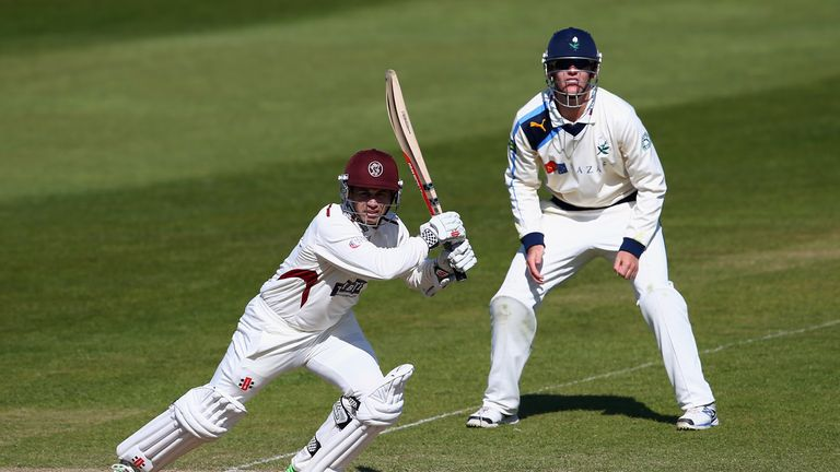 Johann Myburgh: One of four Somerset players to sign new contract