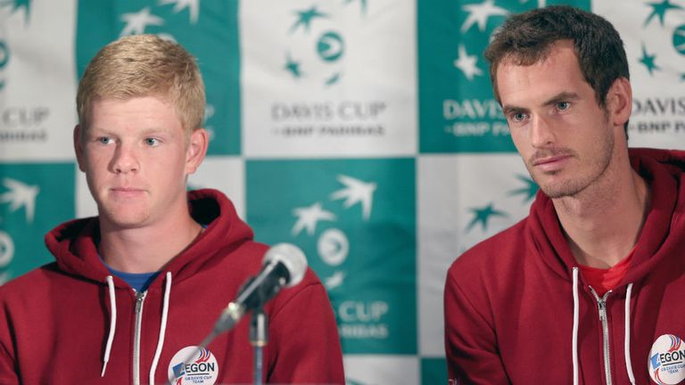 Edmund faces the problem of being compared to British No 1 Andy Murray