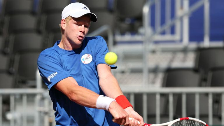 Kyle Edmund was called up by Great Britain Davis Cup captain Leon Smith in February