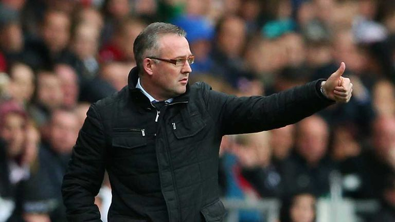 Paul Lambert: Desperate to secure survival on Saturday