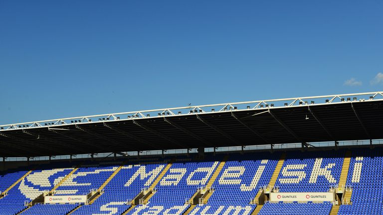 Madejski Stadium: Reading announce partnership