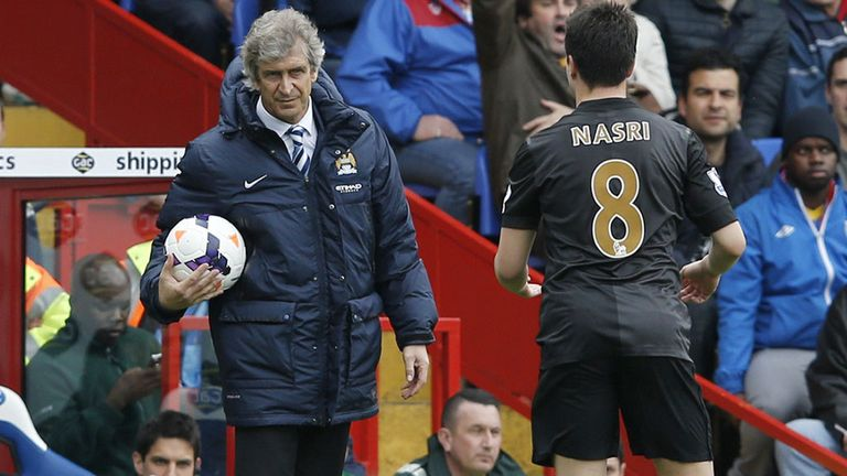 Manuel Pellegrini: Staying calm, despite City seizing the initiative