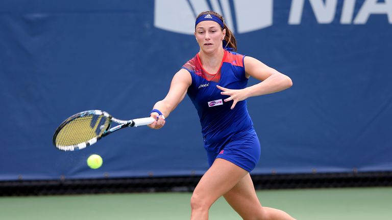 Mariana Duque: Stunning win over Sloane Stephens