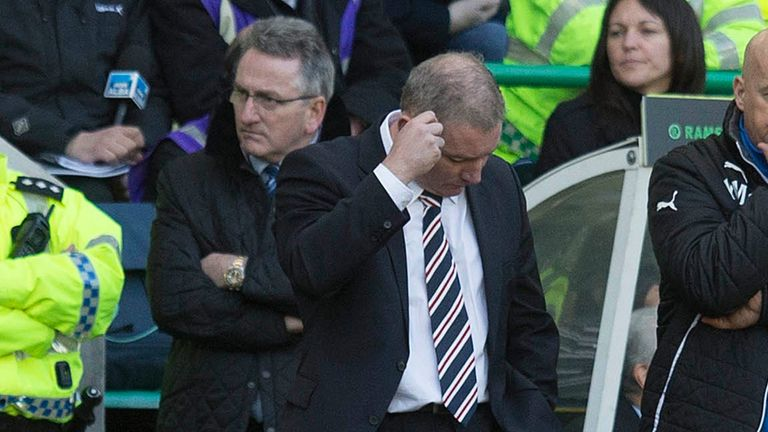 Ally McCoist: Rangers manager left to rue one that got away in Ramsdens Cup final defeat by Raith