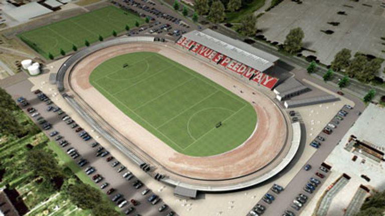 Belle Vue Speedway New Stadium