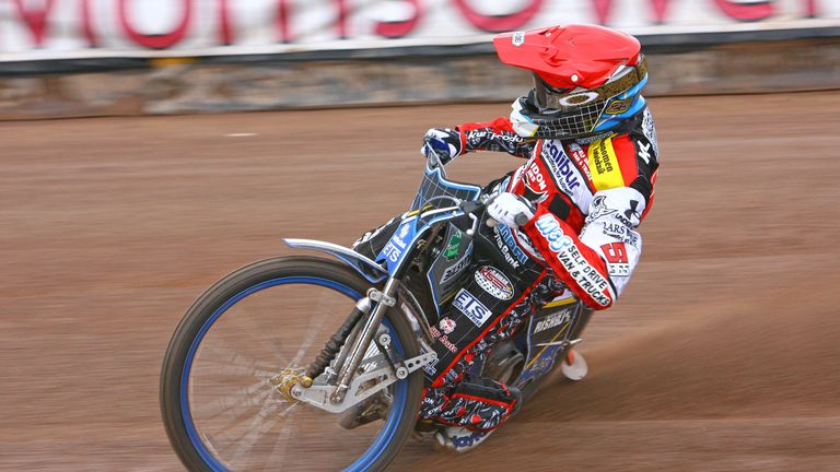 Peter Kildemand: Led Swindon to win (picture credit Les Aubrey)