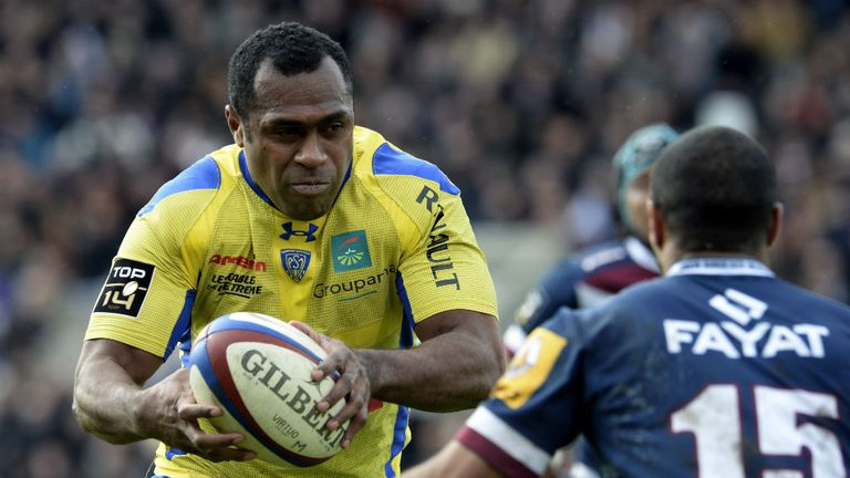 Sitiveni Sivivatu: Identified as Clermont Auvergne's dangerman