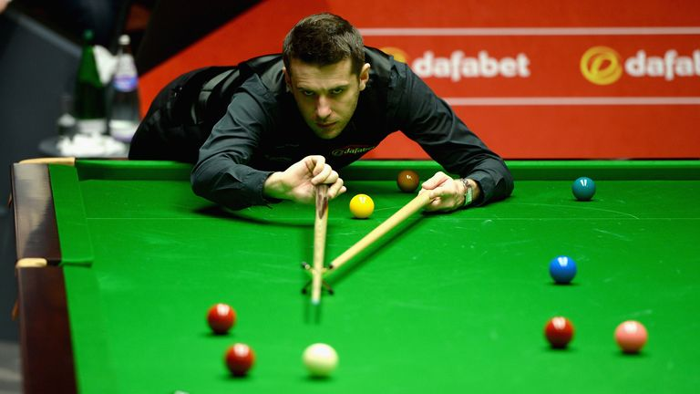 Mark Selby: Leicester cueman reached quarter-finals at the Crucible for the fifth time