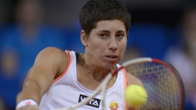Carla Suarez Navarro: Enjoyed a comprehensive second round win