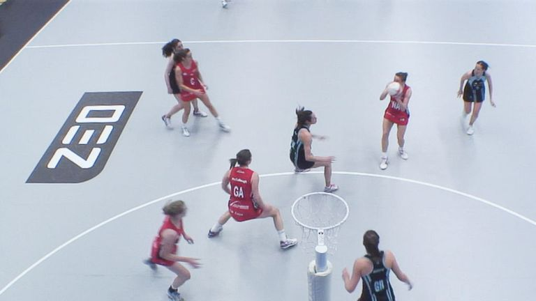 Surrey Storm proved too strong for Team Northumbria