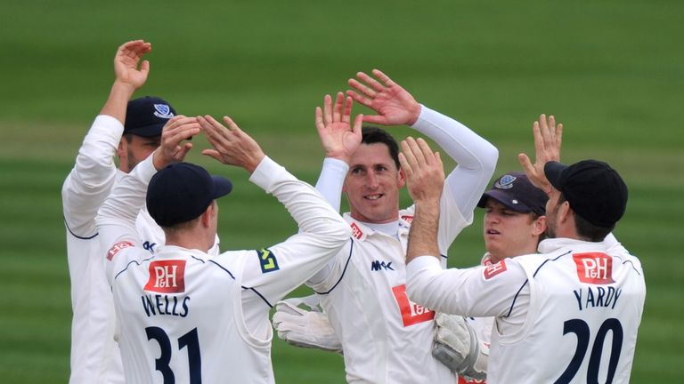Jon Lewis: Took three wickets at Edgbaston