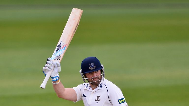Matt Prior: hit the first hundred of the County Championship season