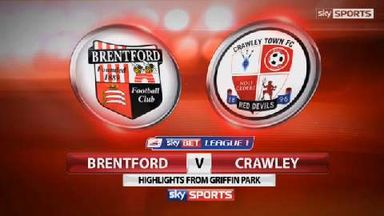 Brentford 1-0 Crawley