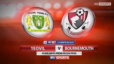 Yeovil 1-1 Bournemouth