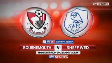 Bournemouth 2-4 Sheff Wed