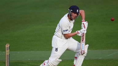 Jonathan Trott: Warwickshire batsman in action in April