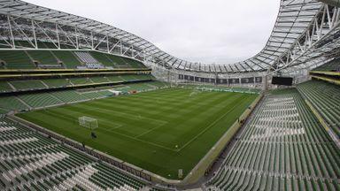 Aviva Stadium to host June 4 training game