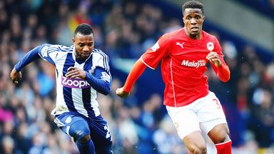 Wilfried Zaha: Has made eight appearances for Cardiff since joining on loan