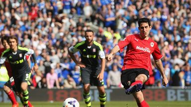 Peter Whittingham: Equalised from the spot for Cardiff