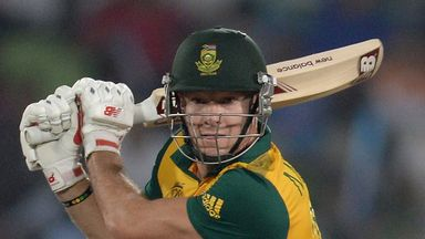 David Miller: South African hit six sixes in his 19-ball half-century