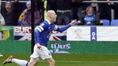 Steven Naismith: Thrilled to play his part in Everton's victory over Arsenal