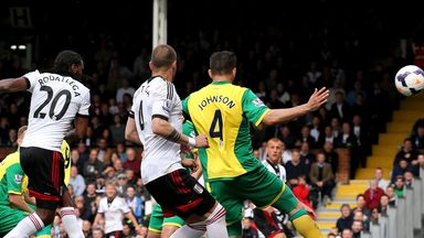 Hugo Rodallega: Fulham striker guides home the winner against Norwich