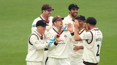 All smiles: Lancashire are confident of surprising a few people in the Championship this season