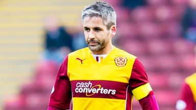 Keith Lasley: Motherwell skipper has signed a new deal with the club