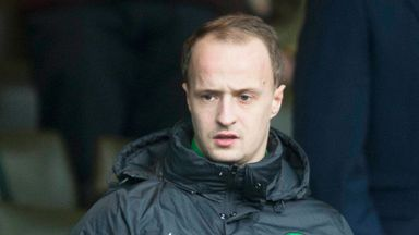 Leigh Griffiths: Caught on camera singing Hearts chants with Hibs fans