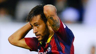 Neymar: Is likely to miss Barcelona