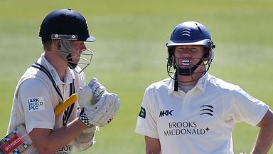 Chris Rogers (right): Australian wants to extend Test career to next Ashes series