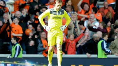 Steve Simonsen: Backed by Rangers boss Ally McCoist